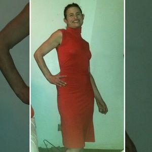 Diane Von Furstenberg sexy Valentine's Day dress